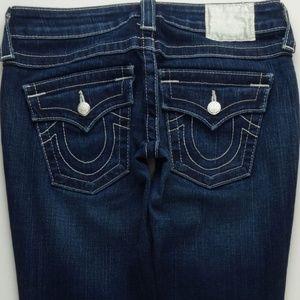 True Religion Julie Skinny Jeans Women's 26  A171J